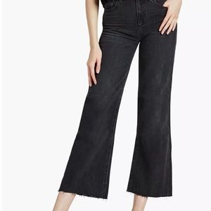 Lucky Brand Wide Legged Ankle Jeans Black